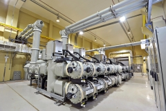145kV Gas-insulated switchgear (F35) at the Shuqaiq HV substation in Saudi Arabia
